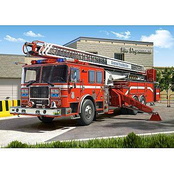 Пазл Castorland 260 деталей Пожарная машина, средний размер элементов 1,911,7 см