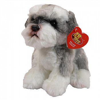 Мягкая игрушка ABtoys Домашние любимцы Собачка Шнауцер, 22 см игрушка мягкая