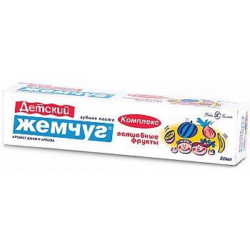 Зубная паста Новый Жемчуг Волшебные фрукты 50мл