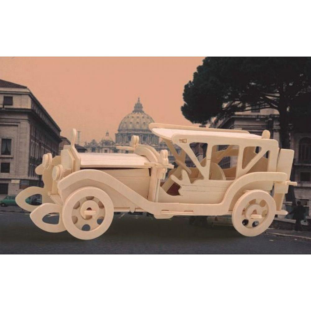 Сборная деревянная модель Чудо-Дерево Транспорт Автомобиль Самбим (4 пластины)