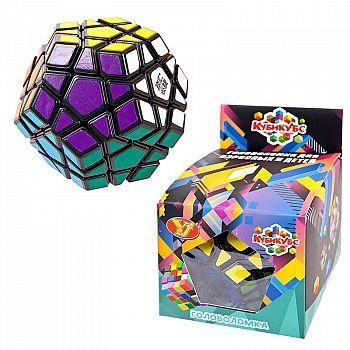 Головоломка пластмассовая, Кубикубс, в коробке, 8,5х9х7,5 см.