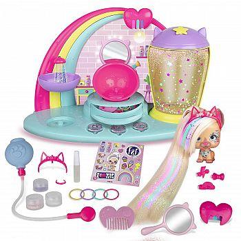 Игровой набор IMC Toys VIP Pets Салон красоты Фабио и Фабии