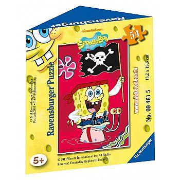 Мини-пазл SpongeBob 54 элемента