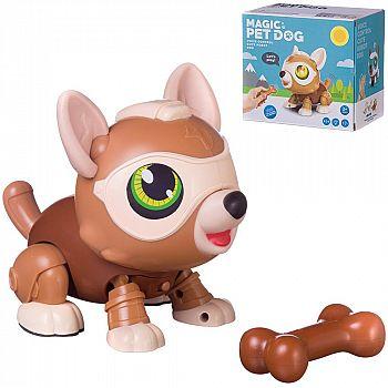 Робот-Собака Junfa (ходит за косточкой) на батарейках