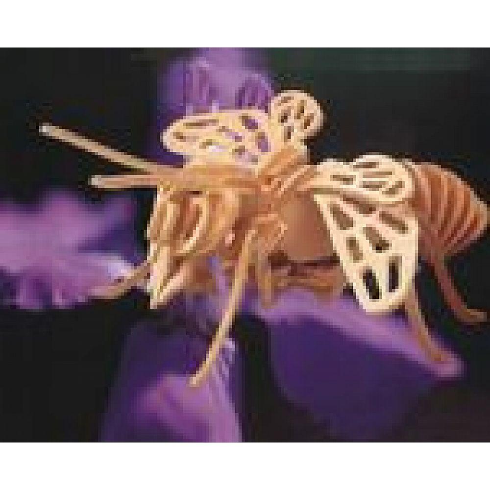 Сборная деревянная модель Чудо-Дерево Насекомые Пчела (4 пластины)