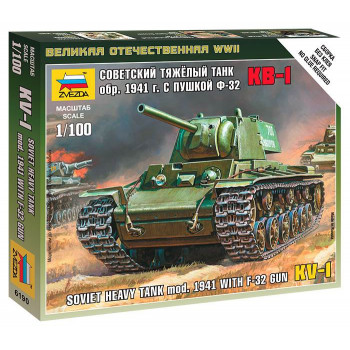 Сборная модель ZVEZDA Советский тяжёлый танк КВ-1