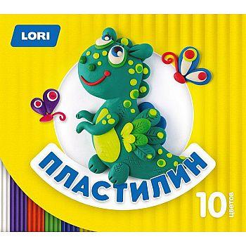 Пластилин детский, 10 цветов, по 15 гр