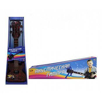 Детская акустическая гитара, цвет черн.