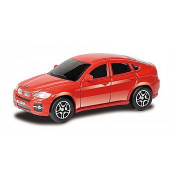 Машинка металлическая Uni-Fortune RMZ City 1:64 BMW X6, Цвет Красный