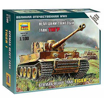 Сборная модель ZVEZDA Немецкий тяжёлый танк Т-VI Тигр