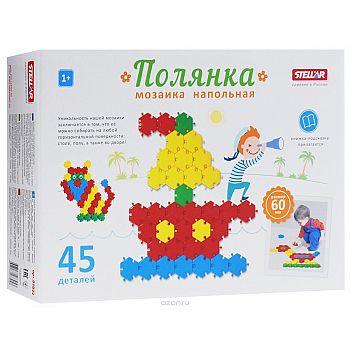 """Мозаика """"Полянка"""" (диаметр 60мм/45 деталей)"""