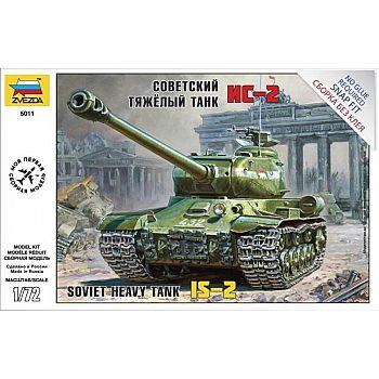 Сборная модель ZVEZDA Советский тяжелый танк Ис-2