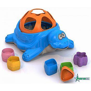 Сортер Черепаха, дидактическая игрушка 23,5х17,5х11,5 см.