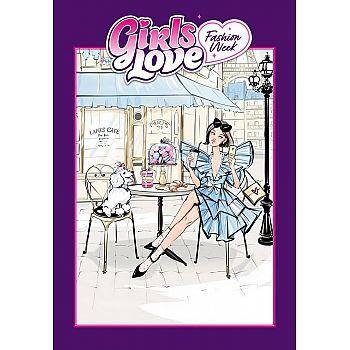 Набор для творчества ЯиГрушка Блокнот Girls Love Fashion Week 23х33 см
