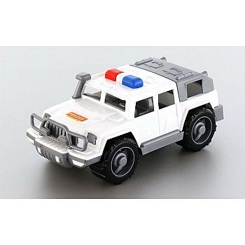 Автомобиль джип патрульный Защитник 31х15,5х13 см.
