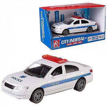 """Машинка """"Полиция"""", пластмассовая, со звуковыми и световыми эффектами, 20х10х11,5 см"""