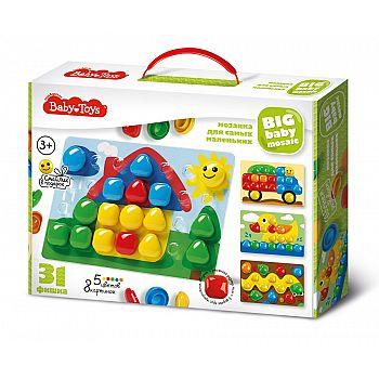 Мозаика для самых маленьких BABY TOYS d40/5 цв/31 эл