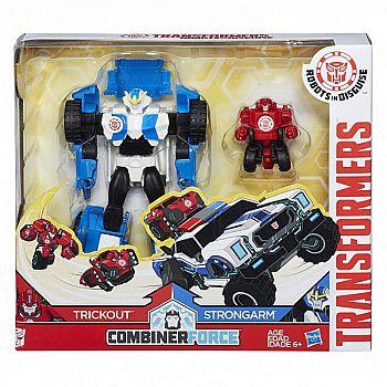 Робот-трансформер Hasbro TRANSFORMERS Роботы под прикрытием Гирхэд-Комбайнер