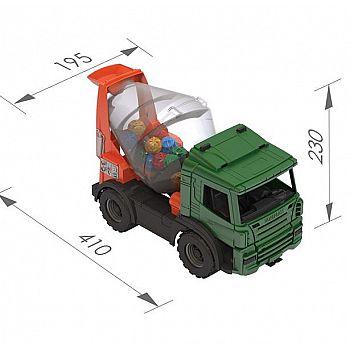 Машина Бетономешалка 41х19,5х23 см.