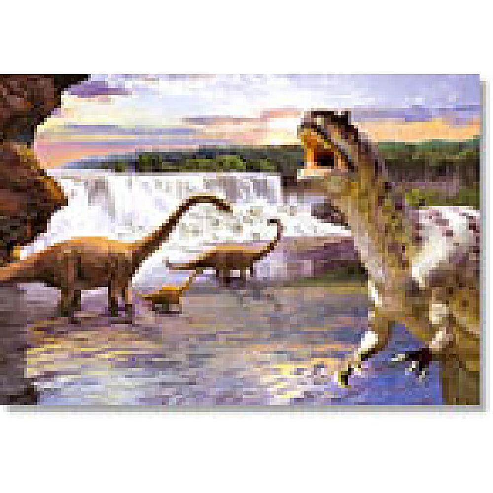 Пазл Castorland 260 деталей Динозавры-2, средний размер элементов 1,911,7 см