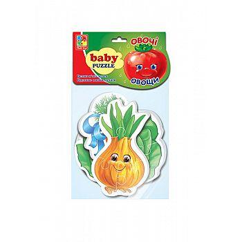 "Пазлы мягкие Baby puzzle ""Овощи"""