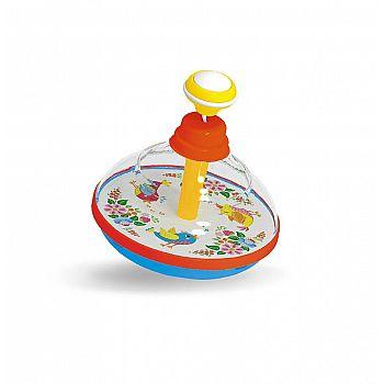 Развивающая игрушка STELLAR Юла «Соловушка» с музыкой d12см