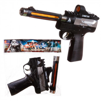 Пистолет с длинным стволом, со световыми и звуковыми эффектами