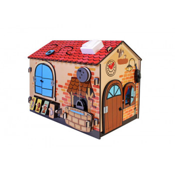 Развивающая игрушка Мастер Игрушек Бизиборд Чудо-дом