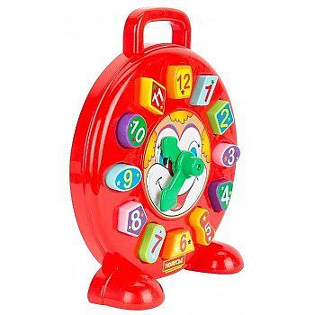 Часы сортер Клоун (в сеточке)