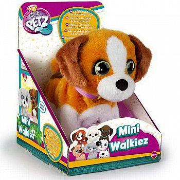 Игрушка интерактивная IMC Toys Club Petz Щенок Mini Walkiez Shepherd интерактивный, ходячий, со звуковыми эффектами