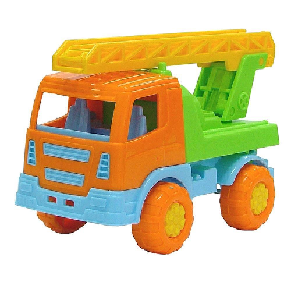 Автомобиль пожарная спецмашина Tёма 16,5х8,3х10,5 см