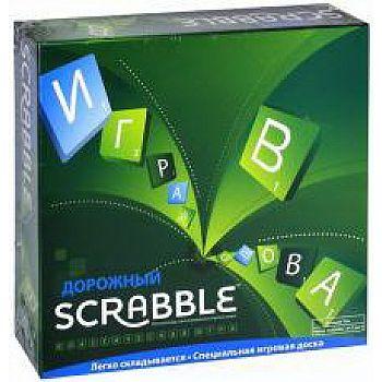 Настольная игра Mattel Scrabble Скраббл дорожный