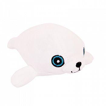 Super-soft. Тюлень белый, 13 см игрушка мягкая