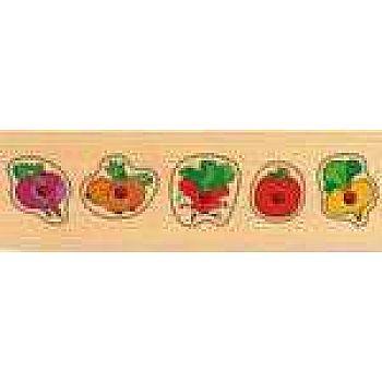 Рамка-вкладыш Овощи мал.