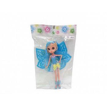 Кукла JUNFA Фея с крылышками 15 x 25см