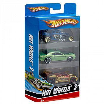 Набор машинок Mattel Hot Wheels 3 машинки