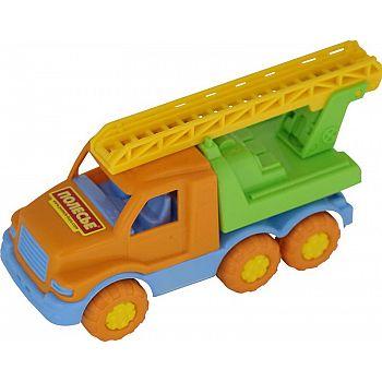 Автомобиль пожарная спецмашина Максик 20,5х8,3х10,5 см.
