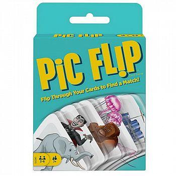 Настольная игра Mattel Pic Flip карточная