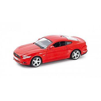 Машинка металлическая Uni-Fortune RMZ City 1:32 Ford Mustang 2015 инерционная, (красный), 12,7х5,08х3,75 см