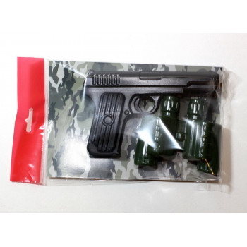Оружие пластиковое Десятое королевство Пистолет Бинокль