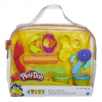 Набор для творчества Hasbro Play-Doh для лепки Базовый