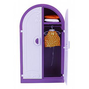 "Шкаф для кукол ""Конфетти"" 16*7,5*28,5см"