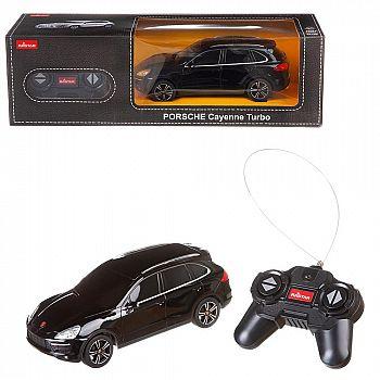 Машина р/у 1:24 Porsche Cayenne Turbo Цвет Черный 27MHZ