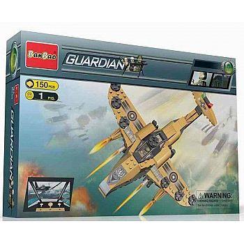 """Конструктор Banbao (Банбао) """"Военный самолет"""", 150 деталей"""