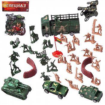 """Набор военных фигурок""""Спецназ"""", 38 предметов"""
