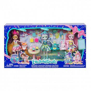 """Игровой набор Mattel Enchantimals """"День рождения"""""""