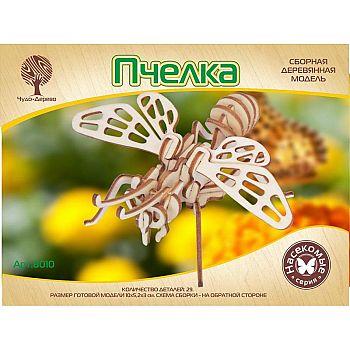Сборная деревянная модель Чудо-Дерево Насекомые Пчелка