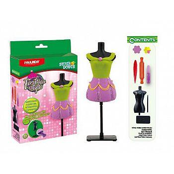 """Масса для лепки """"Мода и стиль"""", набор для создания наряда для куклы"""