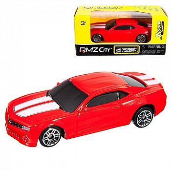Машинка металлическая Uni-Fortune RMZ City 1:64 CHEVROLET CAMARO, Цвет Красный