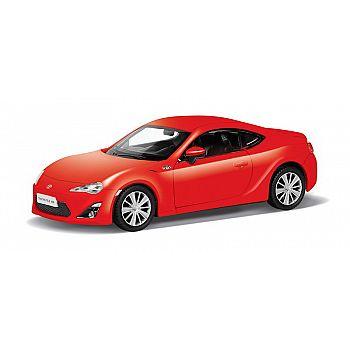 Машинка металлическая Uni-Fortune RMZ City 1:32 TOYOTA 86, Цвет Красный